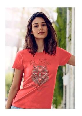 T-Shirt Wise Owl Adult Medium