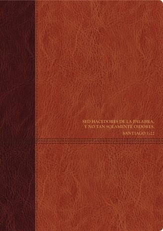 Biblia de estudio del diario vivir RVR60, DuoTono (Imitation Leather)