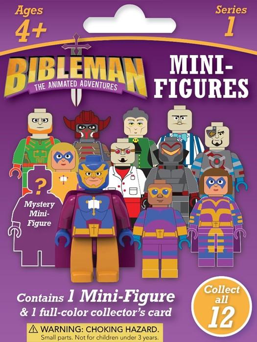 Bibleman Mini Figure (Game)