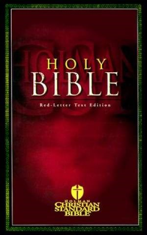 Hcsb Red-Letter Text Bible (Printed Hardcover) (Hard Cover)