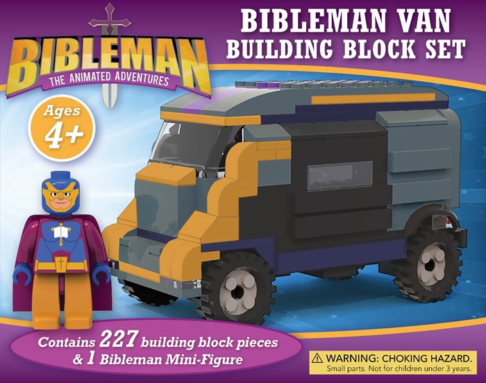 Bibleman Van Building Block Set (Game)