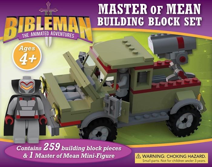 Bibleman Master of Mean Building Block Set (Game)