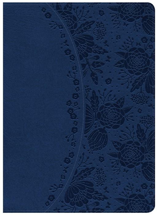 KJV Study Bible Indigo Leathertouch, Indexed (Imitation Leather)
