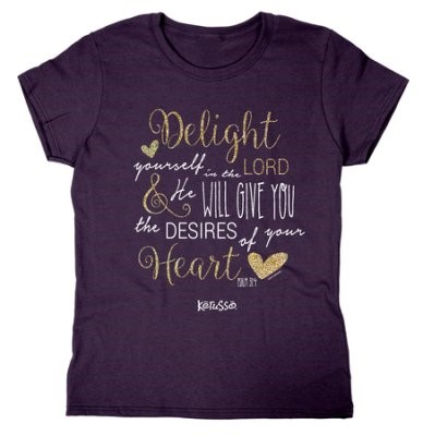 T-Shirt Missy Delight in the Lord 2XL