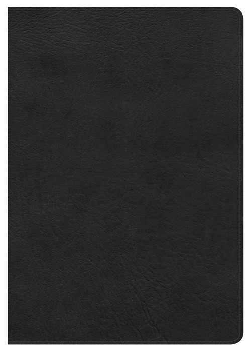 HCSB Super Giant Print Reference Bible, Black Leathertouch (Imitation Leather)