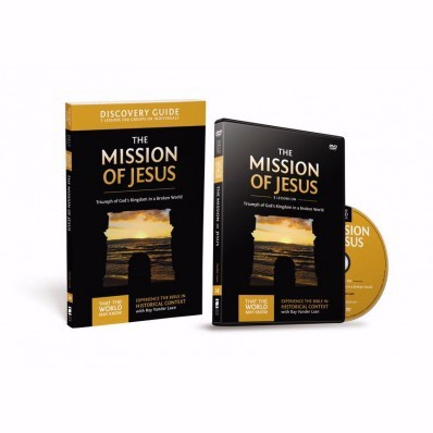 Mission of Jesus Discovery Guide with DVD (Paperback)