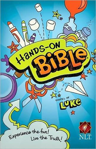 NLT Hands-On Bible: Luke (Paperback)