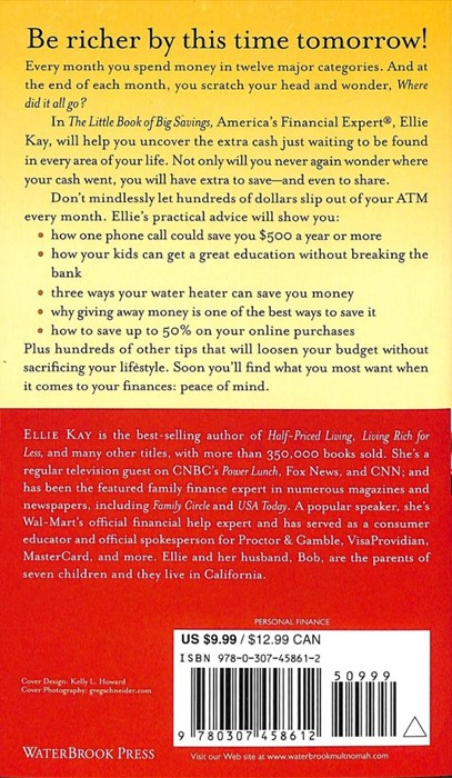 The Little Book Of Big Savings (Paperback)
