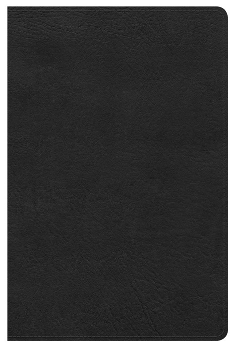 Kjv Ultrathin Reference Bible, Black Leathertouch Indexed (Leather Binding)