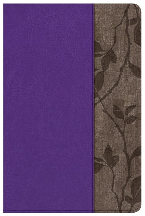 NKJV Holman Study Bible Personal Size, Purple, Indexed (Imitation Leather)