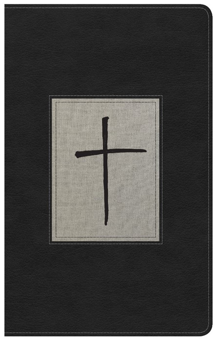 KJV Ultrathin Reference Bible, Black/Gray Deluxe Leathertouc (Imitation Leather)
