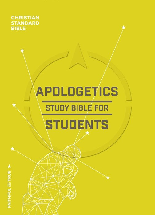 CSB Apologetics Study Bible For Students, Hardcover, Indexed (Hard Cover)