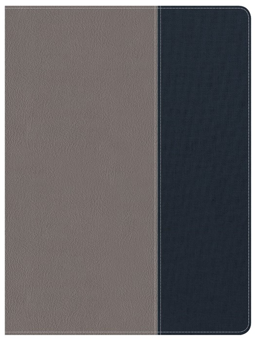 CSB Apologetics Study Bible For Students, Gray/Navy (Imitation Leather)