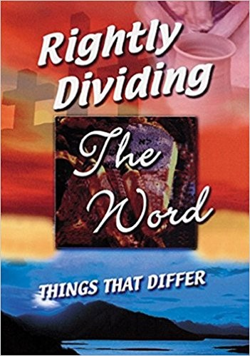 Rightly Dividing the Word (Paperback)