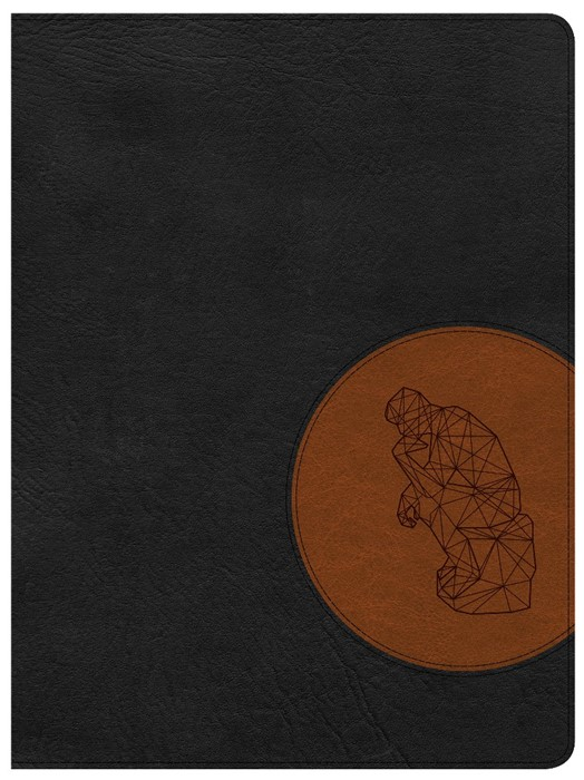 CSB Apologetics Study Bible For Students, Black/Tan (Imitation Leather)