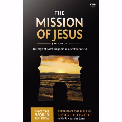 The Mission of Jesus DVD Study (DVD)