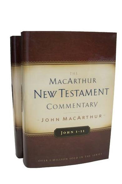 John Volumes 1 & 2 Macarthur New Testament Commentary Set (Multiple Copy Pack)