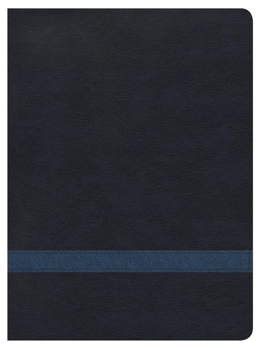 CSB Apologetics Study Bible, Navy Leathertouch (Leather Binding)