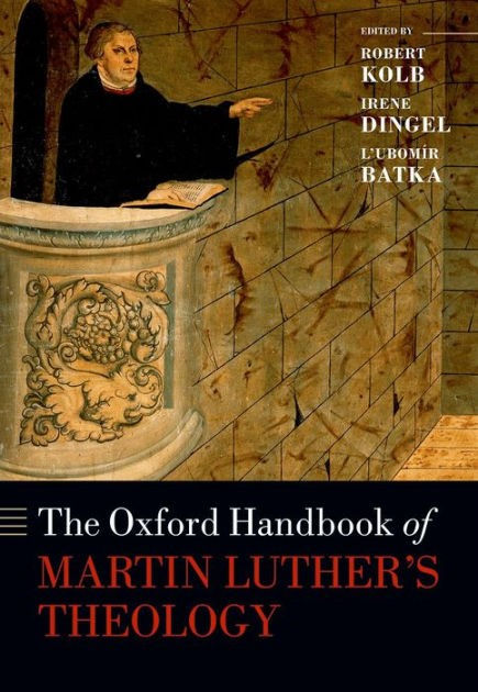 Oxford Handbook of Martin Luther's Theology (Hard Cover)