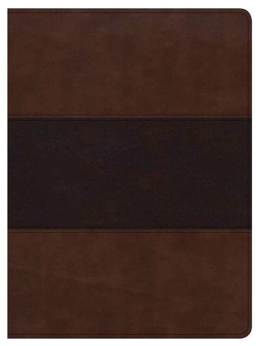 CSB Apologetics Study Bible, Mahogany Leathertouch, Indexed (Imitation Leather)