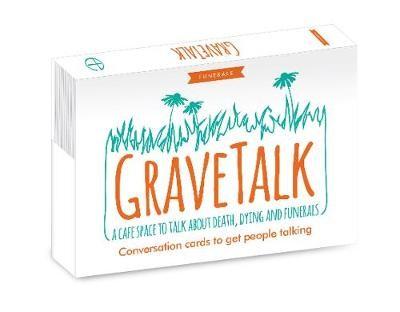 Grave Talk Cards (Postcard Book)