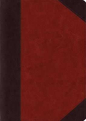 ESV Study Bible, Large Print TruTone, Brown/Cordovan (Imitation Leather)