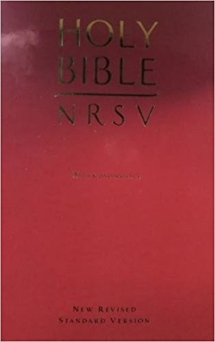 NRSV Anglicised Bible with Concordance (Hard Cover)