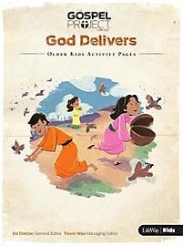 God Delivers: Older Kids Activity Pages (Paper Back)