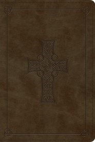 ESV Personal Reference Bible (TruTone, Olive, Celtic Cross D (Leather Binding)