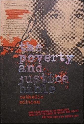 NRSV Anglicised Poverty & Justice Catholic Bible (Paperback)