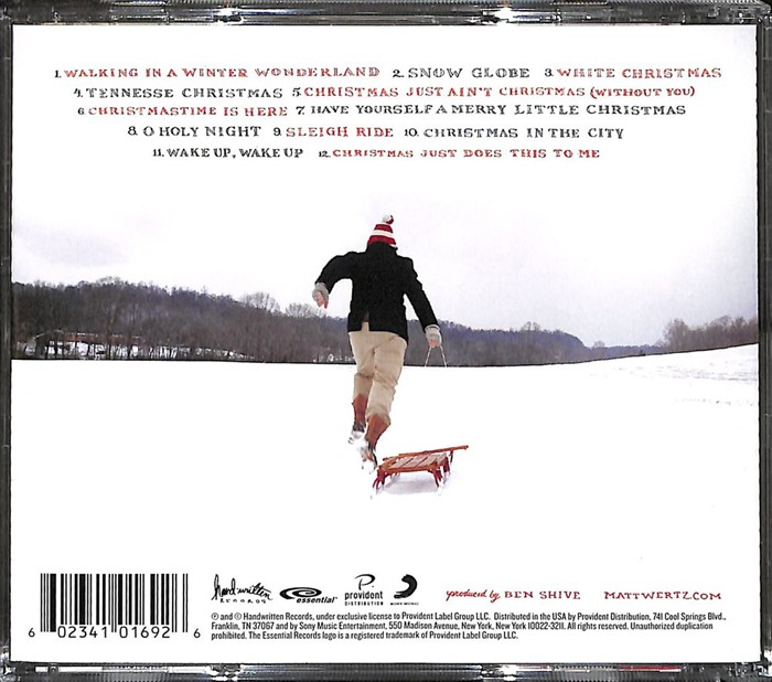 Snow Globe Cd- Audio