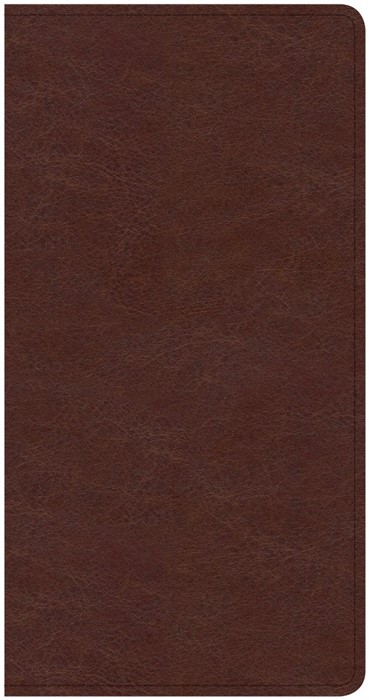 CSB Share Jesus Without Fear New Testament, Brown (Imitation Leather)