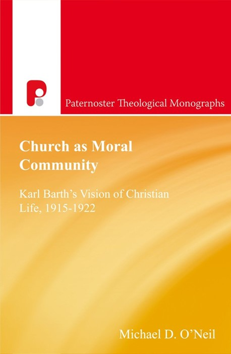Church As Moral Community (Paperback)