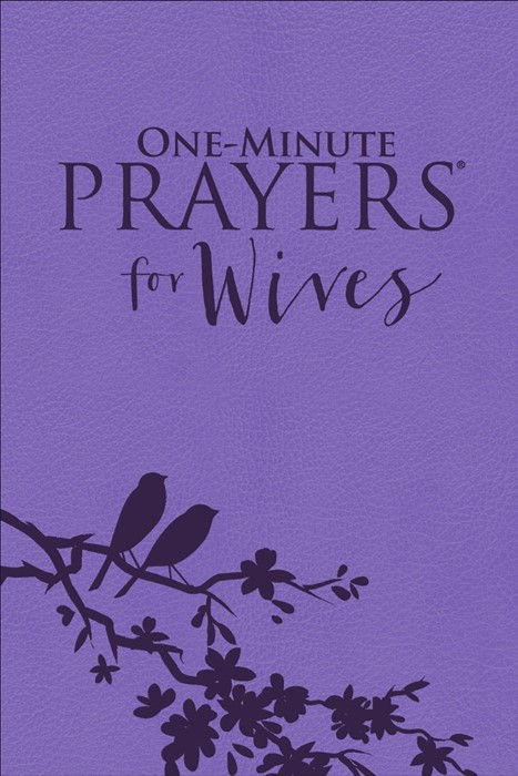 One-Minute Prayers® For Wives (Leather Binding)