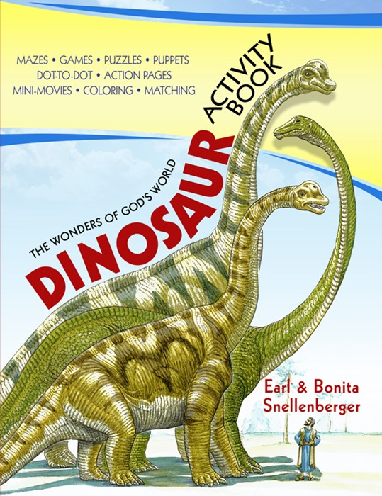 Dinosaur Activity Book (Paper Back)