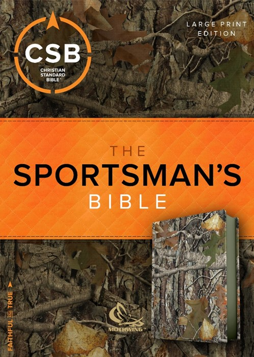 CSB Sportsman's Bible: Large Print Personal Size Edition (Imitation Leather)