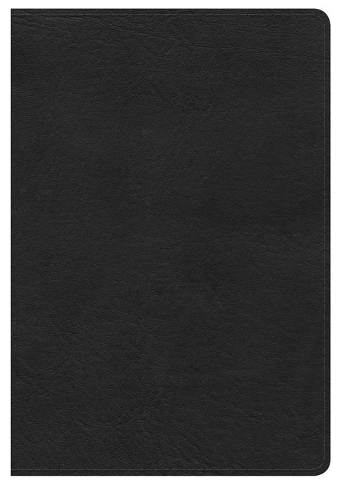 HCSB Compact Ultrathin Bible, Black Leathertouch (Imitation Leather)