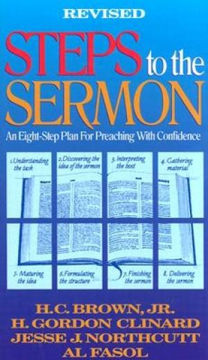 Steps To The Sermon (Hard Cover)