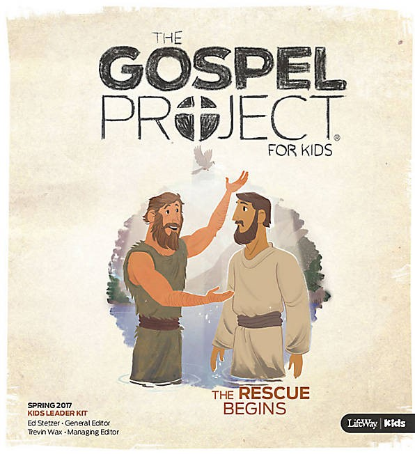 Rescue Begins, The: Kids Leader Kit Spring 2017 (Mixed Media Product)