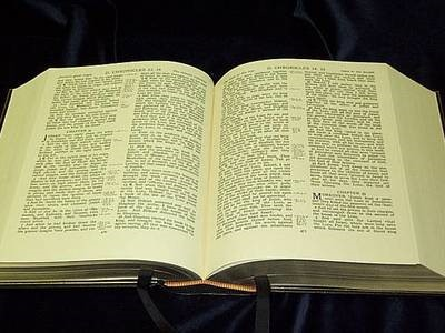 KJV Pulpit Reference Bible (Goatskin Leather Boards) (Genuine Leather)