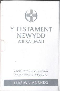 Beible Cymraeg Newydd NT & Psalms Pocket Gift Edition (Imitation Leather)