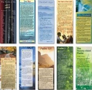 Bible Passage Bookmarks (mixed pack of 10) (Bookmark)