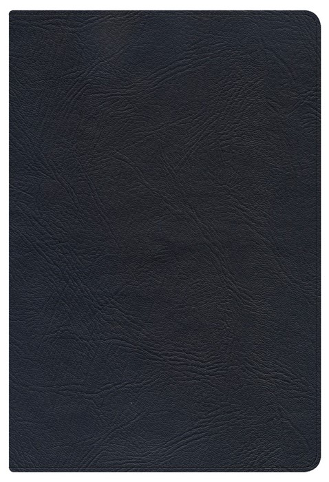 NKJV Large Print Personal Size Reference Bible, Black (Leather Binding)