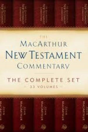 MacArthur New Testament Commentary Set 33 Volumes (Kit)