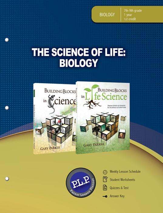 Science Of Life: Biology Parent Lesson Planner (Paperback)