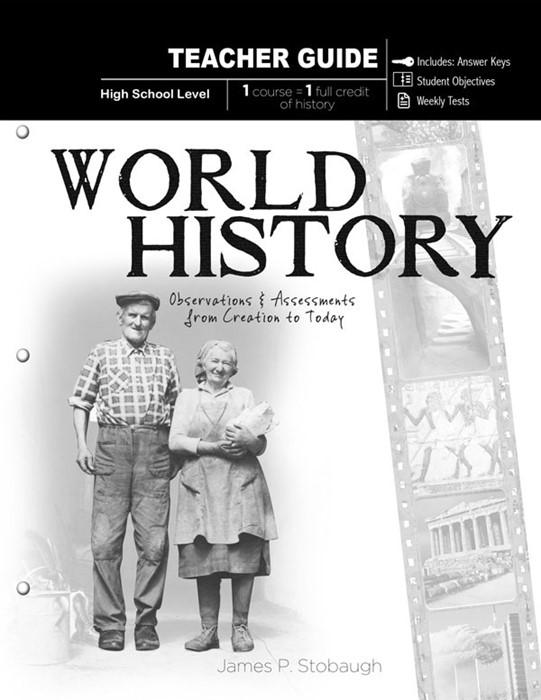 World History (Teacher Guide) (Paperback)