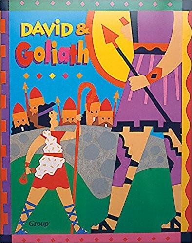 Bible Big Book: David And Goliath (Board Book)