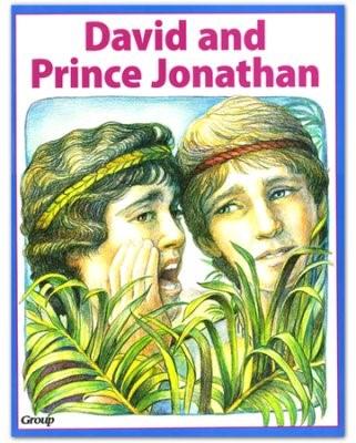 Bible Big Book: David And Prince Jonathan (Board Book)