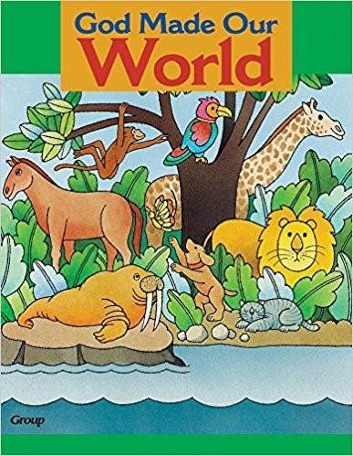 Bible Big Book: God Made Our World (Board Book)