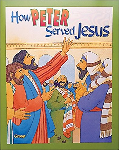 Bible Big Books: How Peter Served Jesus (Board Book)